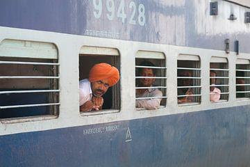 Indiase trein van Wouter Moné