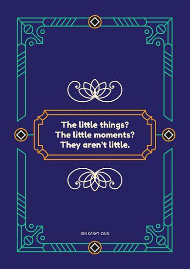 The Little Things van Jun-Yi Lee