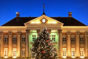 Kerstboom voor het Stadhuis van Groningen von Frenk Volt