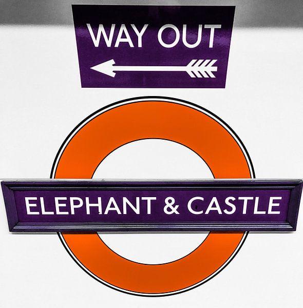 Elephant & Castle sur Kevin Kanbier