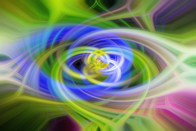 Bloem Lijnenspel van strepen von Fotografie Sybrandy