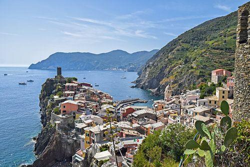 Vernazza, Cinque Terre Italie van
