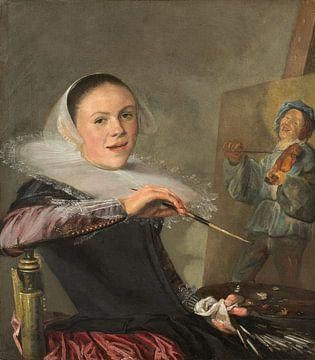 Zelfportret, Judith Leyster - ca. 1630 van Het Archief