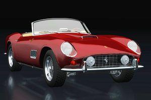 Ferrari 250 GT Spyder California 1960 Dreiviertelansicht
