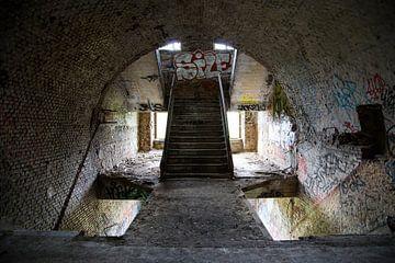 Fort de la Chartreuse - Trappenhuis van