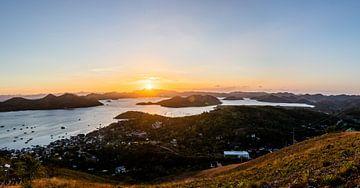 Sonnenuntergang in Coron (Philippinen) von Yvette Baur