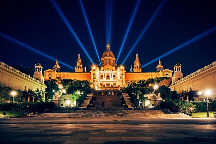 Barcelona - Palau Nacional van Alexander Voss