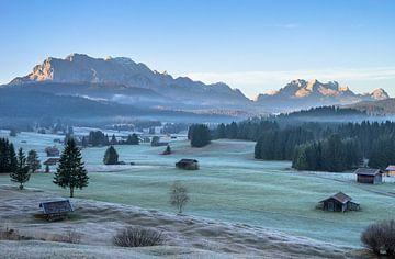 Herbstmorgen van Patrice von Collani