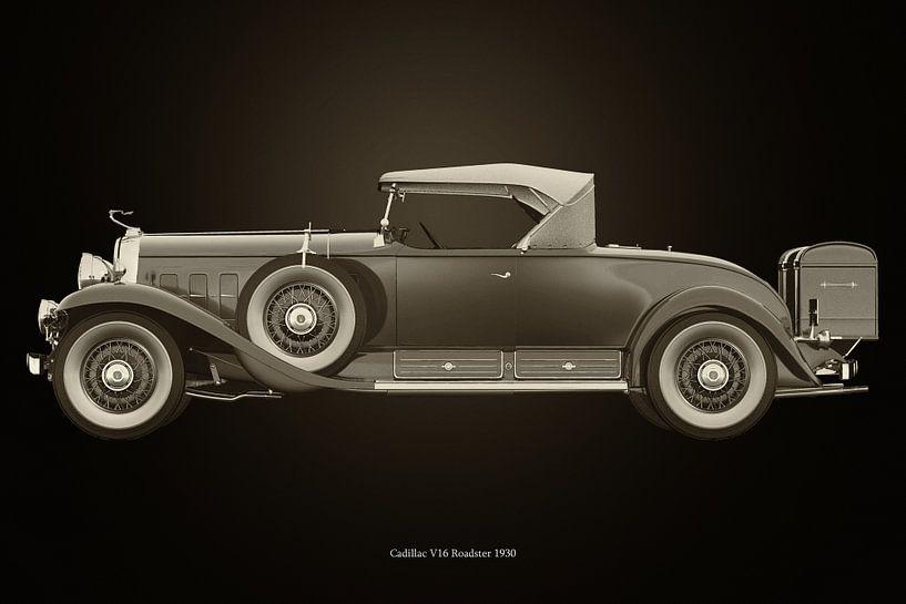 Cadillac V16 Roadster 1930 van Jan Keteleer