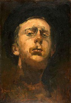 Selbstbildnis mit Kneifer, George Hendrik Breitner