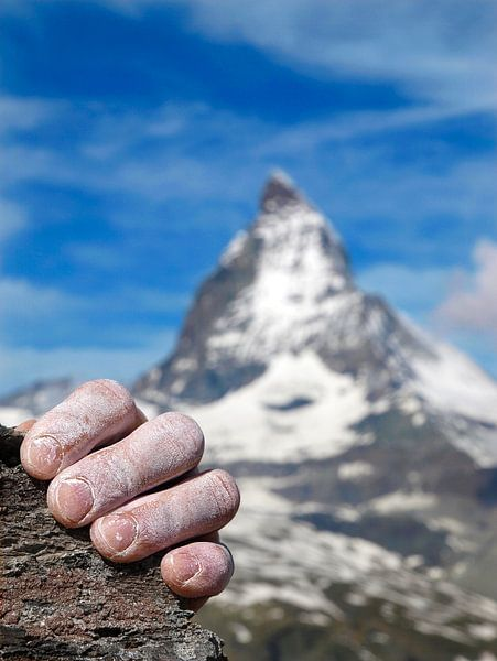 Matterhorn beklimming van Menno Boermans