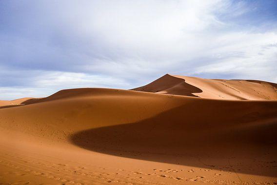Sahara-Wüste bei Sonnenaufgang