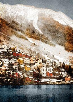 Norwegen Odda Landschaft #Norwegen