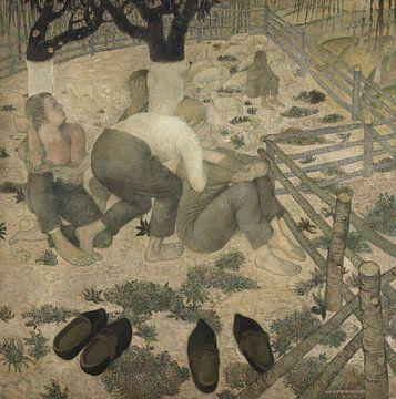 Die Schlafenden, Gustave Van de Woestyne