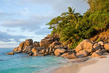 Plage de rêve Anse Georgette - Praslin - Seychelles sur Max Steinwald