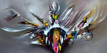 Abstract Vision van Gena Theheartofart
