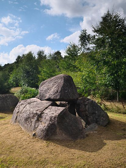 Dolmens at Lindeskov Hestehave, Ørbæk, Denmark