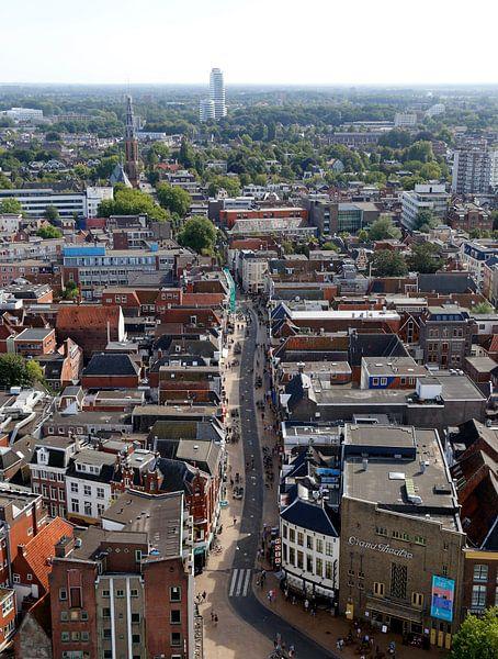 Oosterstraat Groningen van Sander de Jong