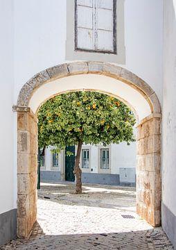 Straatbeeld in Portugal van Evelien Oerlemans