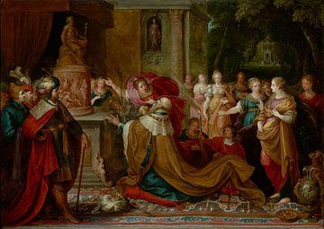 Der Götzendienst von Salomo, Frans Francken der Jüngere