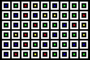 Nested | Center | 09x06 | N=02 | Random #03 | RGBY van Gerhard Haberern