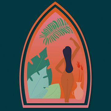 Ochtend in paradijs van Sophie van Schravendijk