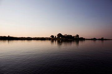 Okavango-delta is een van de zeven natuurlijke wonderen van Afrika, Botswana van