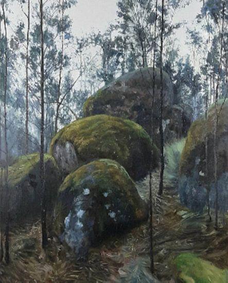 Aarde en de natuur triple rock