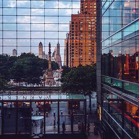 New York – Columbus Circle von Alexander Voss