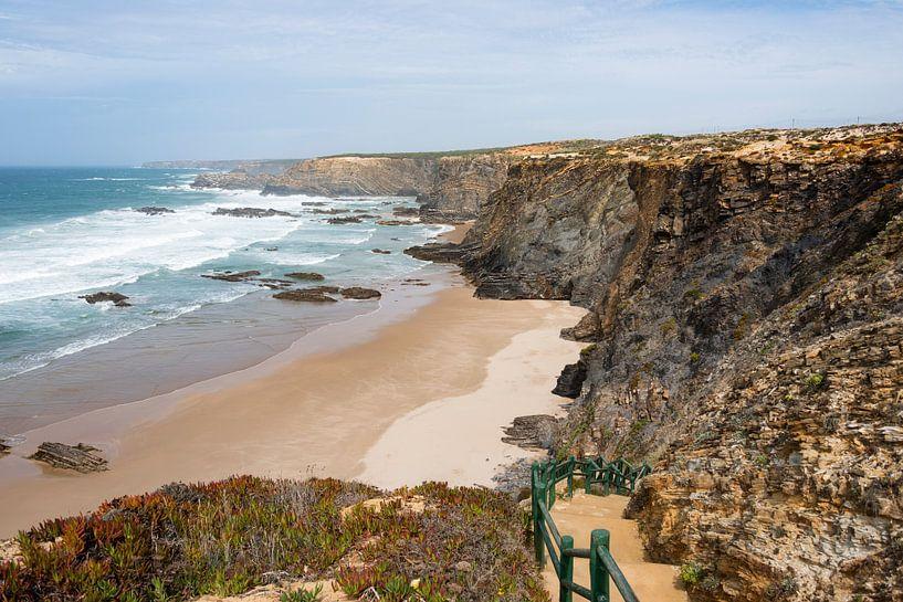 de westkust van portugal van Compuinfoto .
