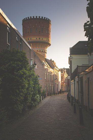 The tower (Lauwerhof watertoren, Utrecht)