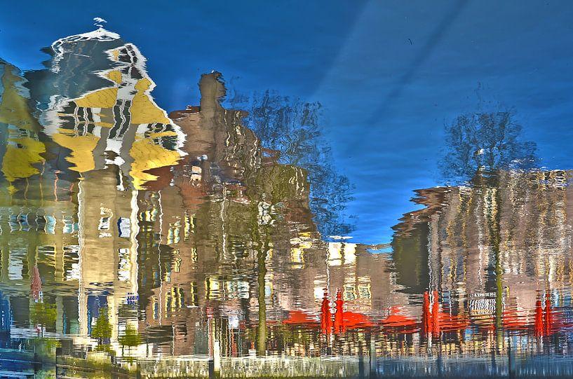 Kubuswoningen en Spaansekade, Rotterdam van Frans Blok