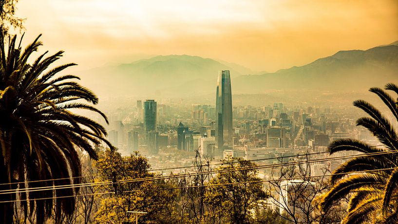Santiago (Santiago, Chile) von Michel van Rossum
