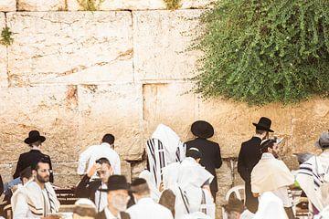 Jeruzalem / Klaagmuur / Kleurrijk beeld / Reisfotografie van Jikke Patist