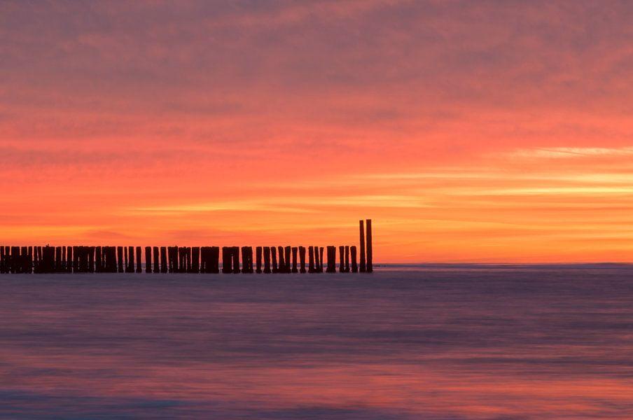 Orange Sky van Jonathan van den Broeke