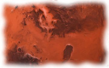 Mars opervlakte van Maurice Dawson