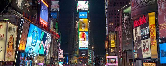 times square new york city  van MadebyGreet Greetvanbreugel