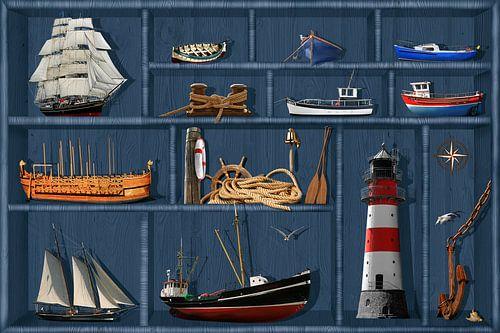 De maritieme case kabinet