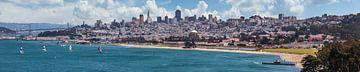 San Francisco Skyline von Melanie Viola