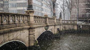 Pont Regenesse à Rotterdam sur Paul Poot