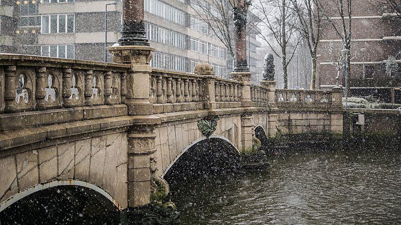 Regentessebrug Rotterdam van Paul Poot