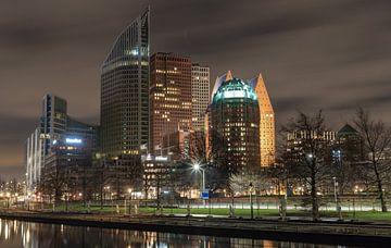 La Haye la nuit... sur Bert - Photostreamkatwijk