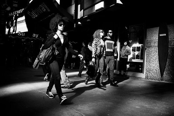 Afro at 42nd street, Manhattan - New York