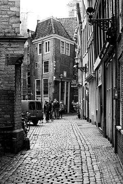Amsterdam in Schwarz und Weiß von Apple Brenner