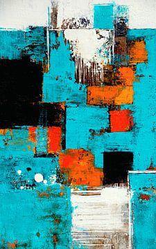 Buiten het bereik: Turquoise van Claudia Neubauer
