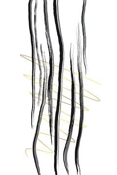 Deko Linien Nr. 2 - Leger von Melanie Viola