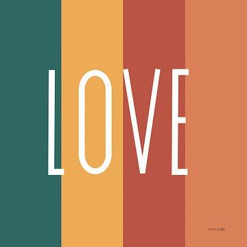 Liefde regenboog retro, Ann Kelle van Wild Apple