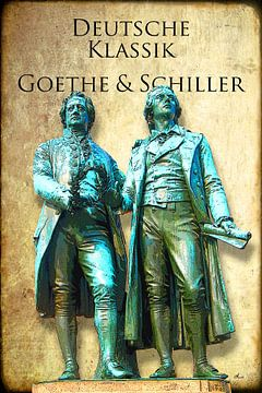 Duitse klassiekers: Goethe & Schiller van Dirk H. Wendt