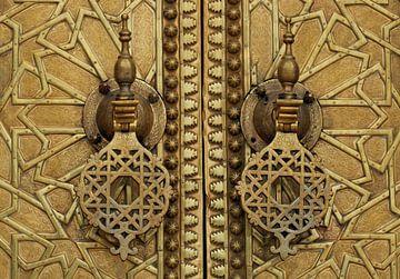 Tür des marokkanischen Palastes von Gert-Jan Siesling