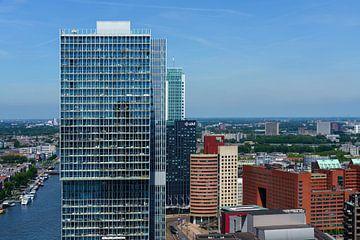 Uitzicht op De Rotterdam van Mark De Rooij